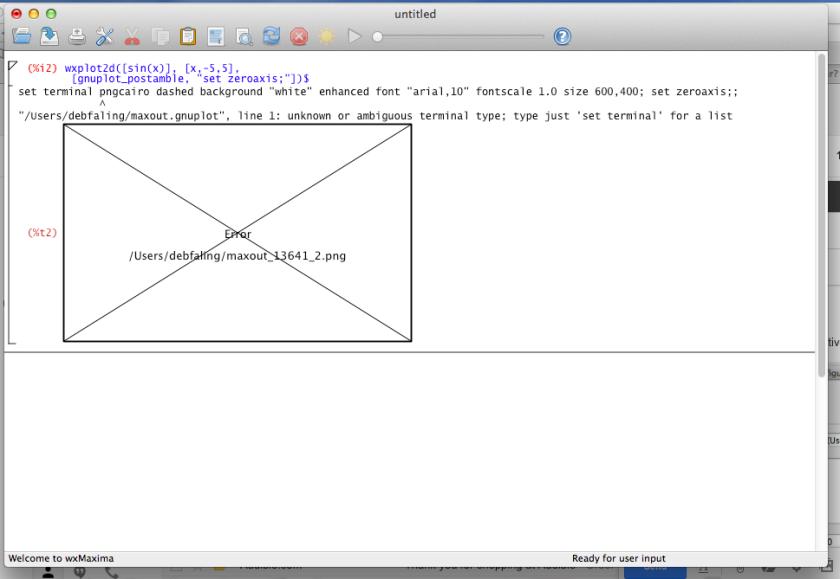 My Mac OS installation – The MaximaList